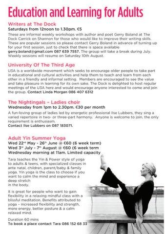 Page 6 of Workshops for Children