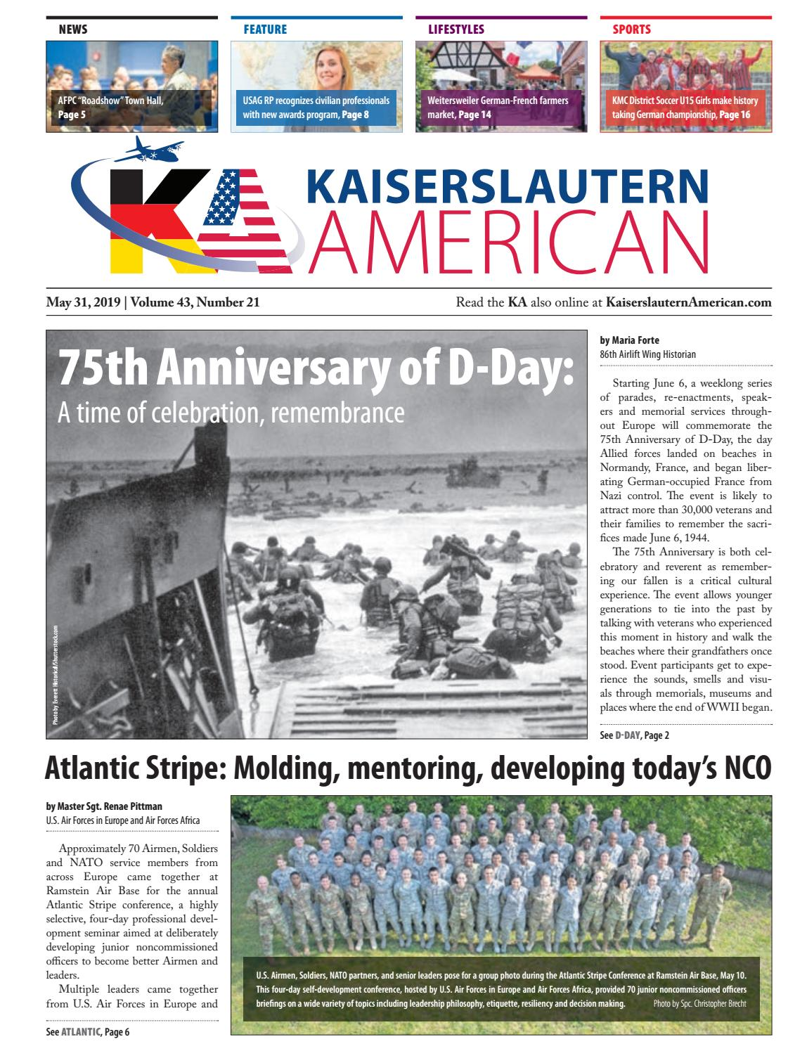 Kaiserslautern American — May 31, 2019 by AdvantiPro GmbH