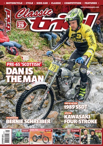 Classic Trial Magazine Issue 29 Summer 2019 by Trials Media