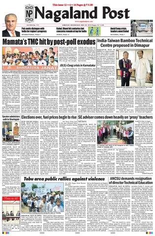 May 29, 2019 by Nagaland Post - issuu