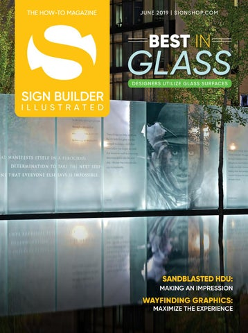 Sign Builder Illustrated June 2019 by Sign Builder Illustrated - issuu