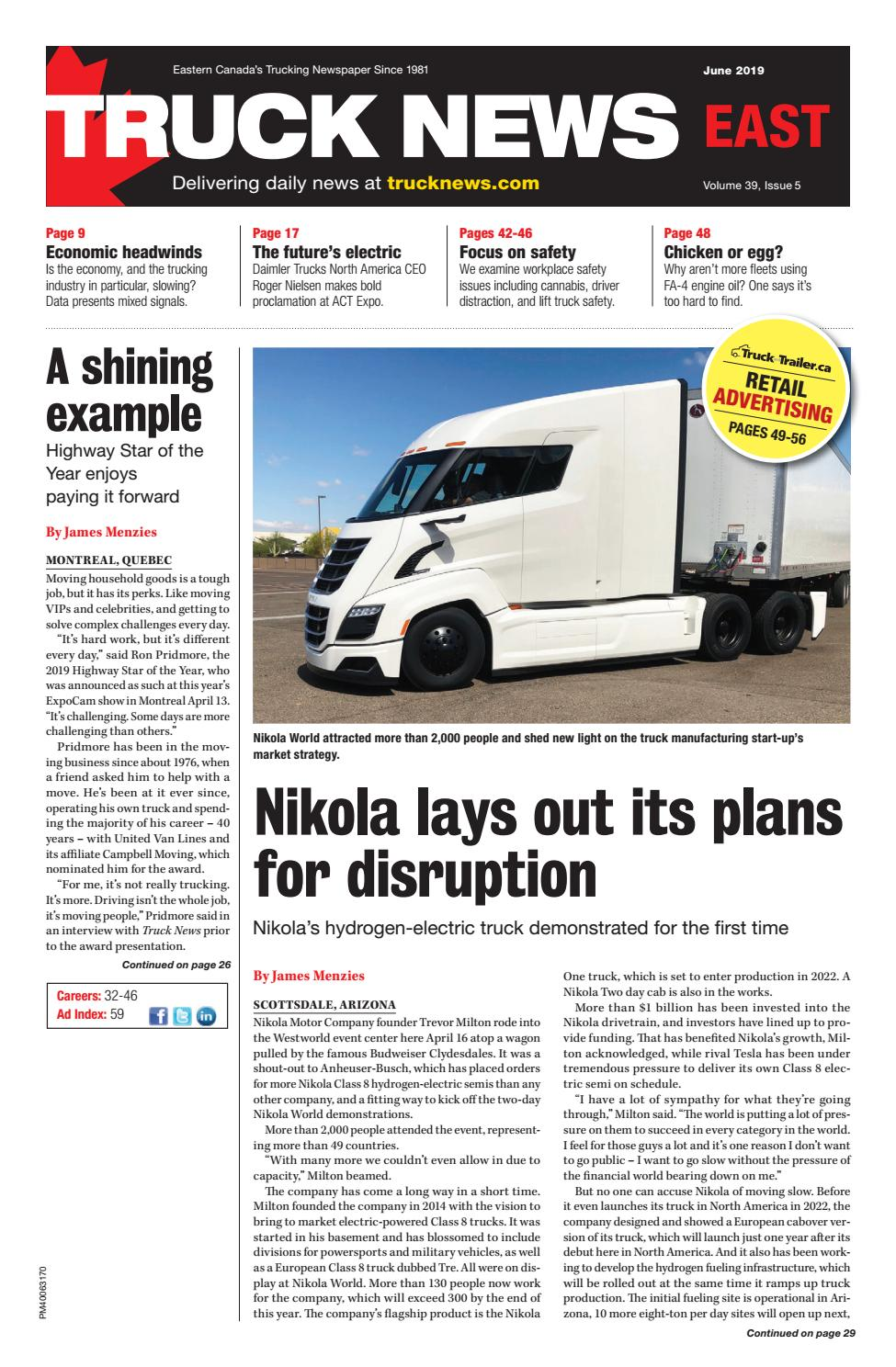 Truck News - East June 2019 by Annex Business Media - issuu