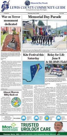 May 29, 2019 by Mountaineer Newspapers - issuu