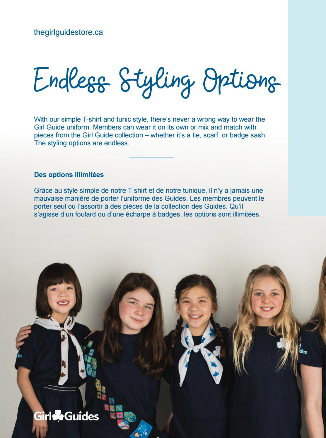 Girl Guides Official Uniform by Canadian Guider: Girl Guides