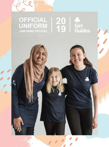 The Girl Guide uniform - English
