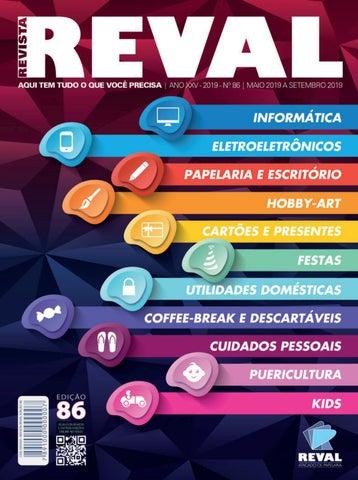 bd4cc0531 Revista Reval 86 - Parte 01 by Reval Atacado de Papelaria Ltda. - issuu
