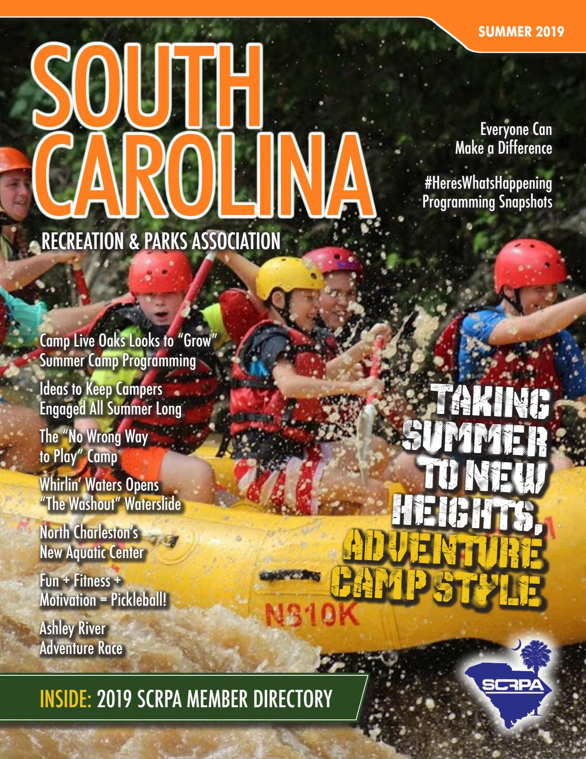 South Carolina Recreation Park Magazine Summer 2019 By Pernsteiner