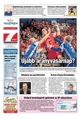 2928d4f569 Veszprémi 7 Nap - 2019. 05. 30. by Maraton Lapcsoport Kft. - issuu