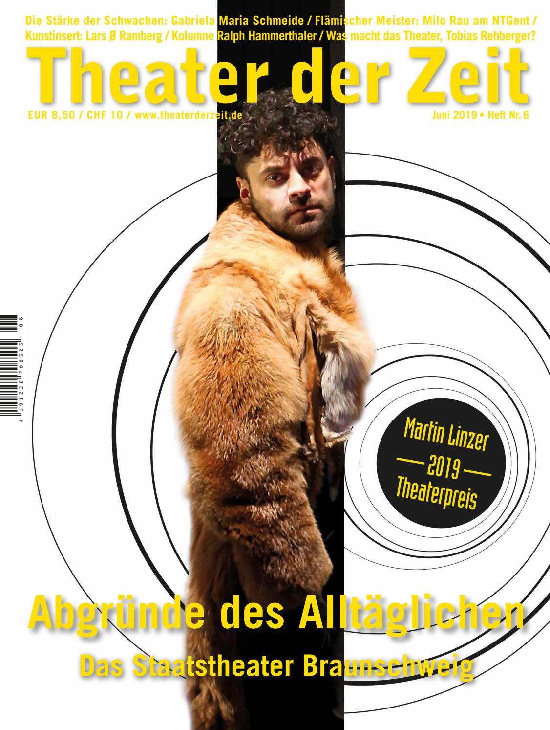 Theater Der Zeit 062019 By Theater Der Zeit Issuu