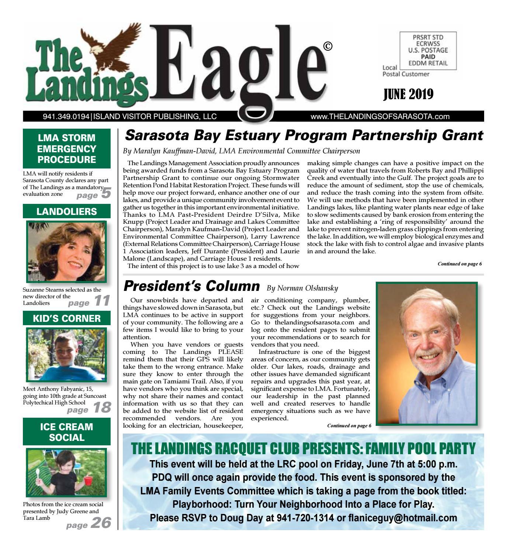 Landings Eagle June 2019 By Emy Stein Issuu