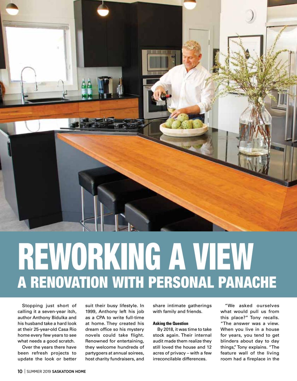 Saskatoon HOME magazine Summer 2019