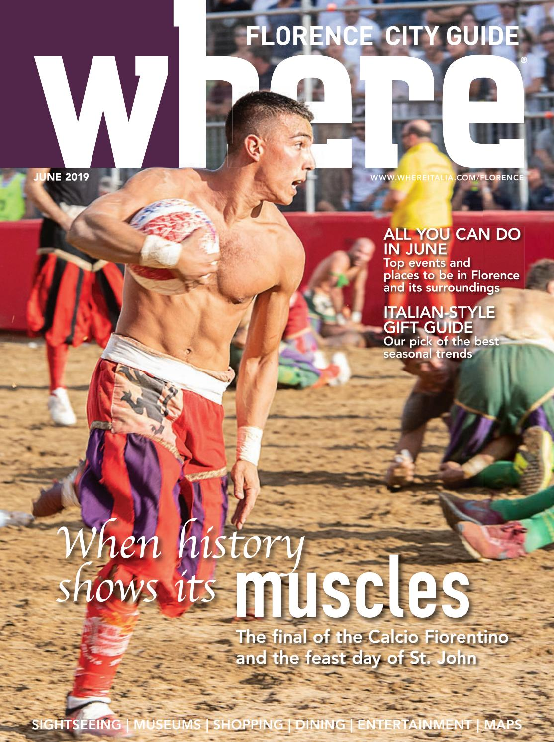 Where Magazine Florence June 2019 By Morris Media Network