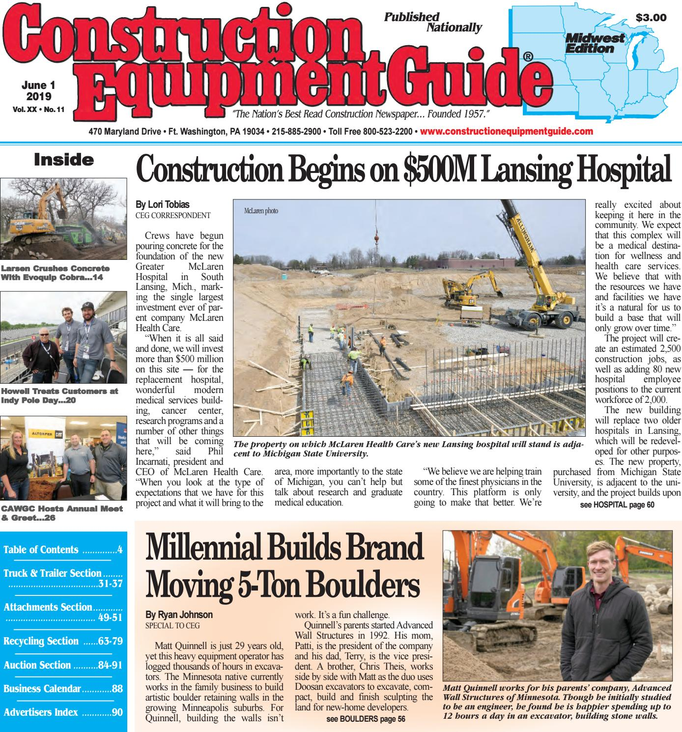 Midwest 11 June 1, 2019 by Construction Equipment Guide - issuu