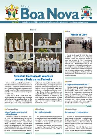 bab1818a1edd Folha da Boa Nova - Edição Junho 2019 by Dicoese de Governador ...