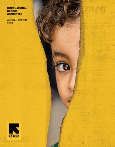 International Rescue Committee Annual Report 2018 by International
