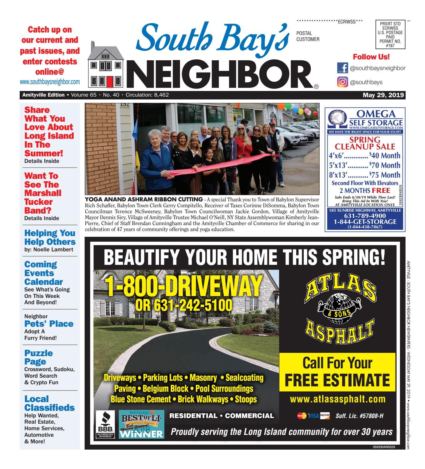 May 29, 2019 Amityville by South Bay's Neighbor Newspapers