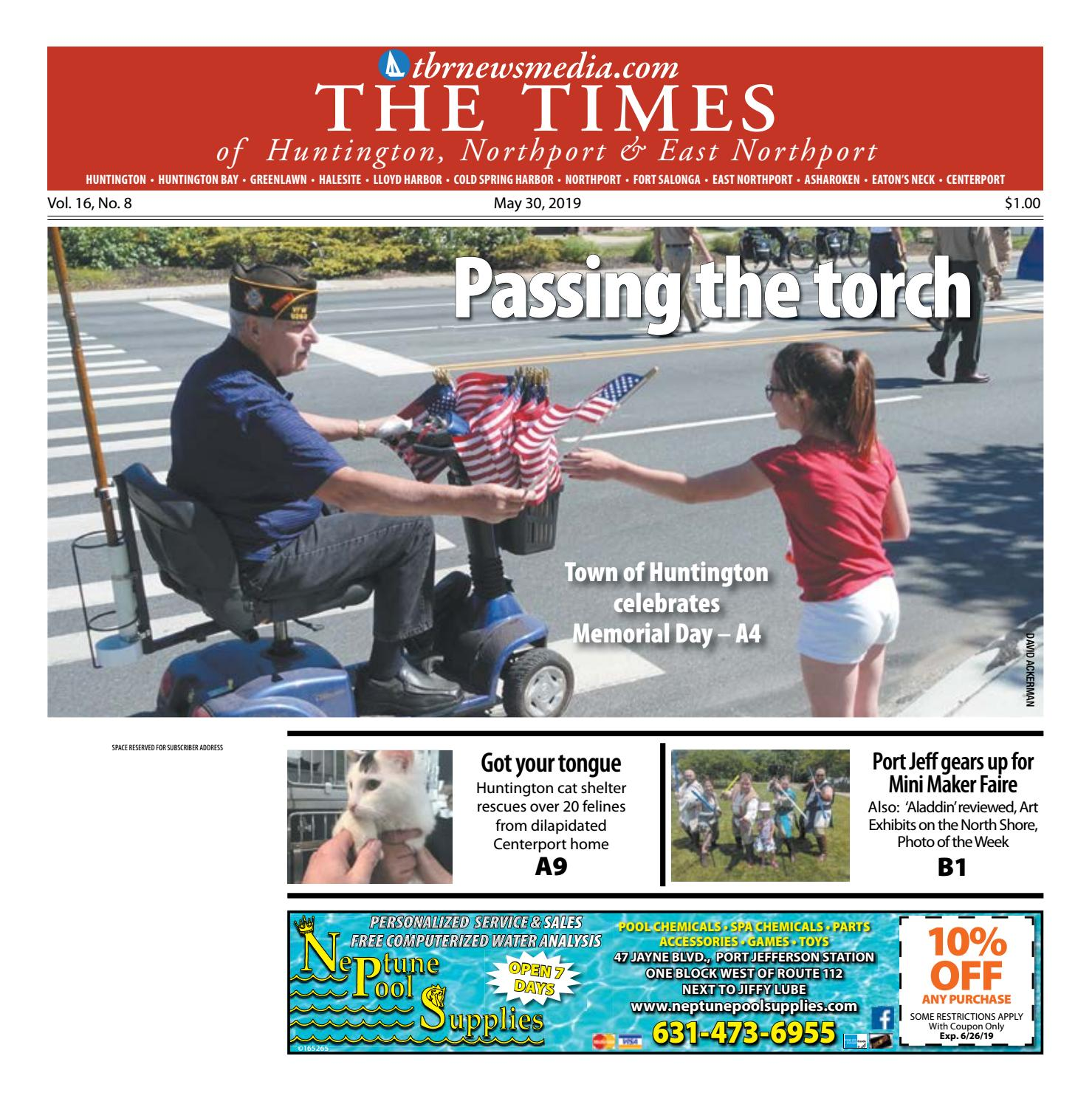 The Times of Huntington-Northport - May 30, 2019 by TBR News