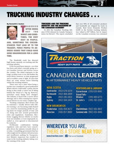 Page 21 of Trucking Industry Changes