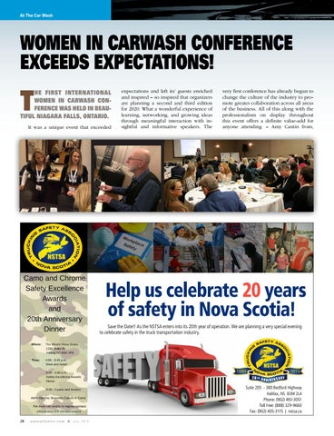 Page 28 of Women in Carwash conference exceeds expectations