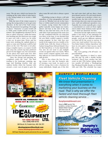 Page 37 of Setting racing sights on Sydney, NS