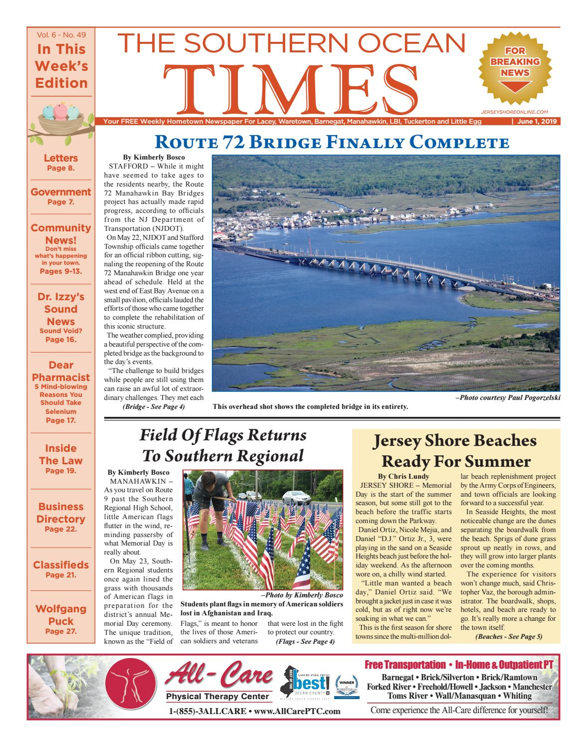 2019 06 01 The Southern Ocean Times By Micromedia Publications