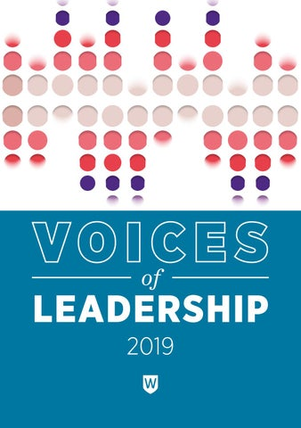 Voices of Leadership by Western Sydney University - issuu