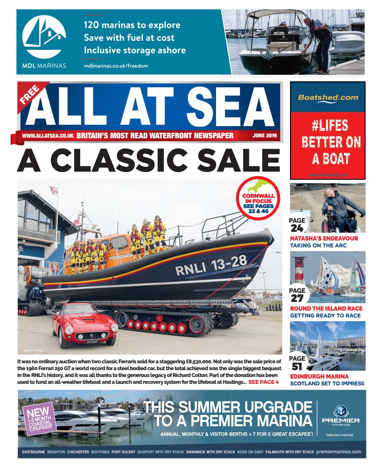 All At Sea June 2019 by All At Sea - issuu