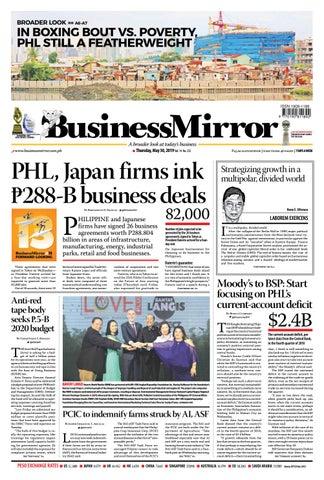 efaac001b8e BusinessMirror May 30, 2019 by BusinessMirror - issuu