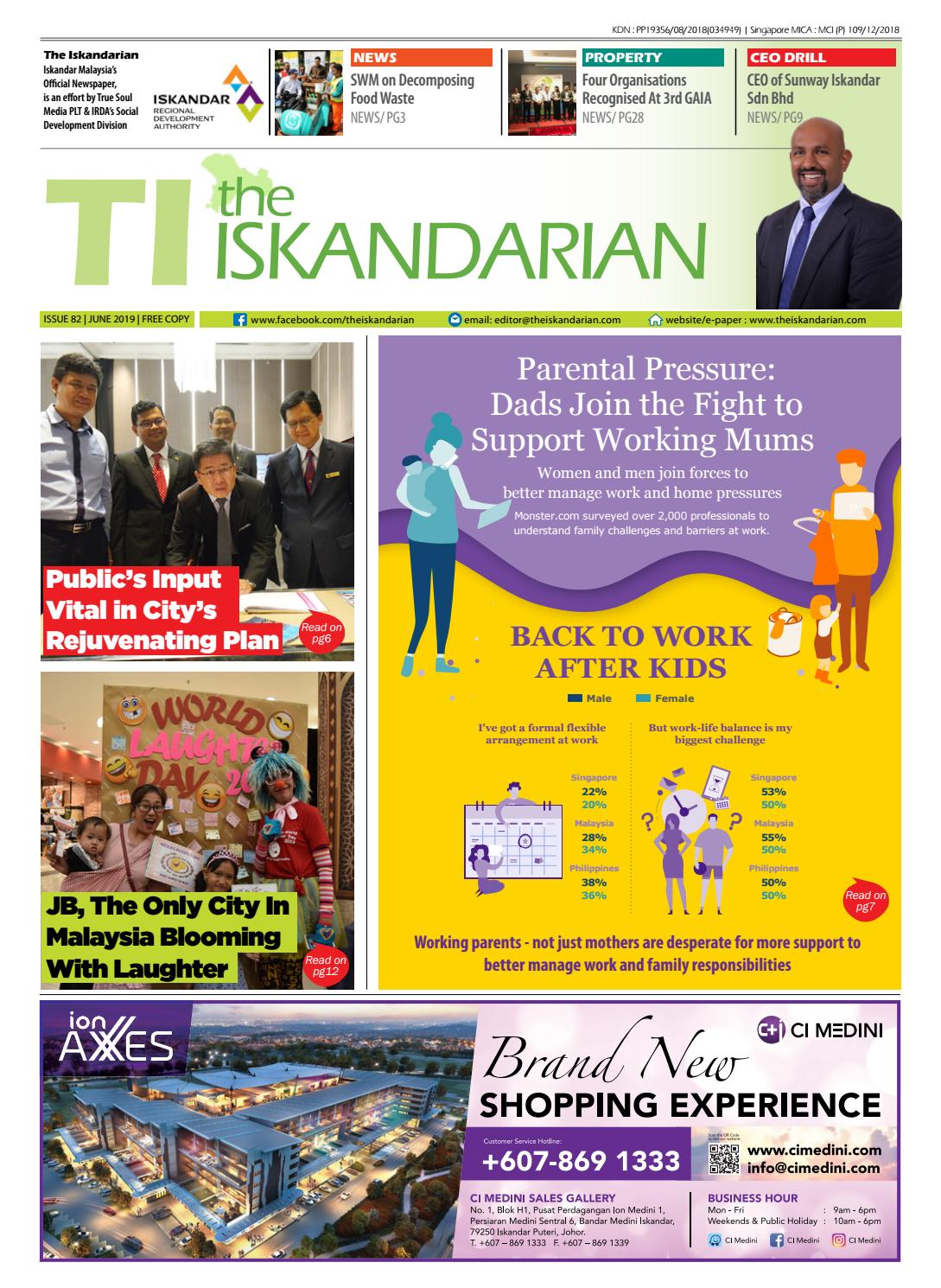 The Iskandarian E-Paper June 2019 by The Iskandarian-WAVES Lifestyle