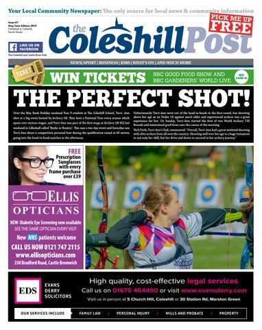 Coleshill Post Mayjune Edition Issue 67 By Hyperbole Ltd
