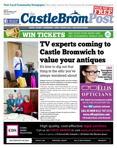 Castle Bromwich Post Mayjune Edition Issue 27 By Hyperbole