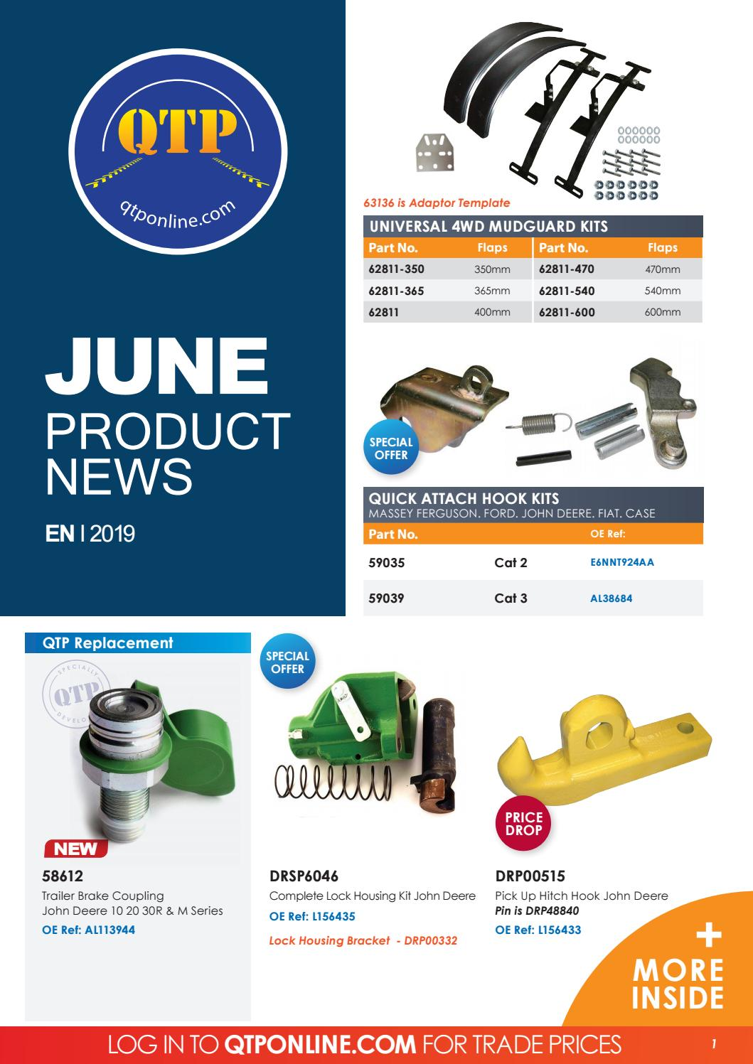 QTP June Product News 2019 by Quality Tractor Parts - issuu