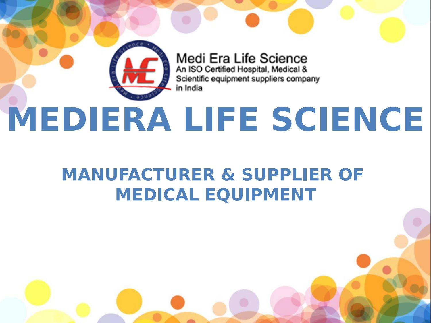 Medical,Hospital,Laboratory Equipment Manufacturer & Supplier in Odisha  India