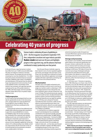 Page 27 of 40 years of Beet – a cause for celebration