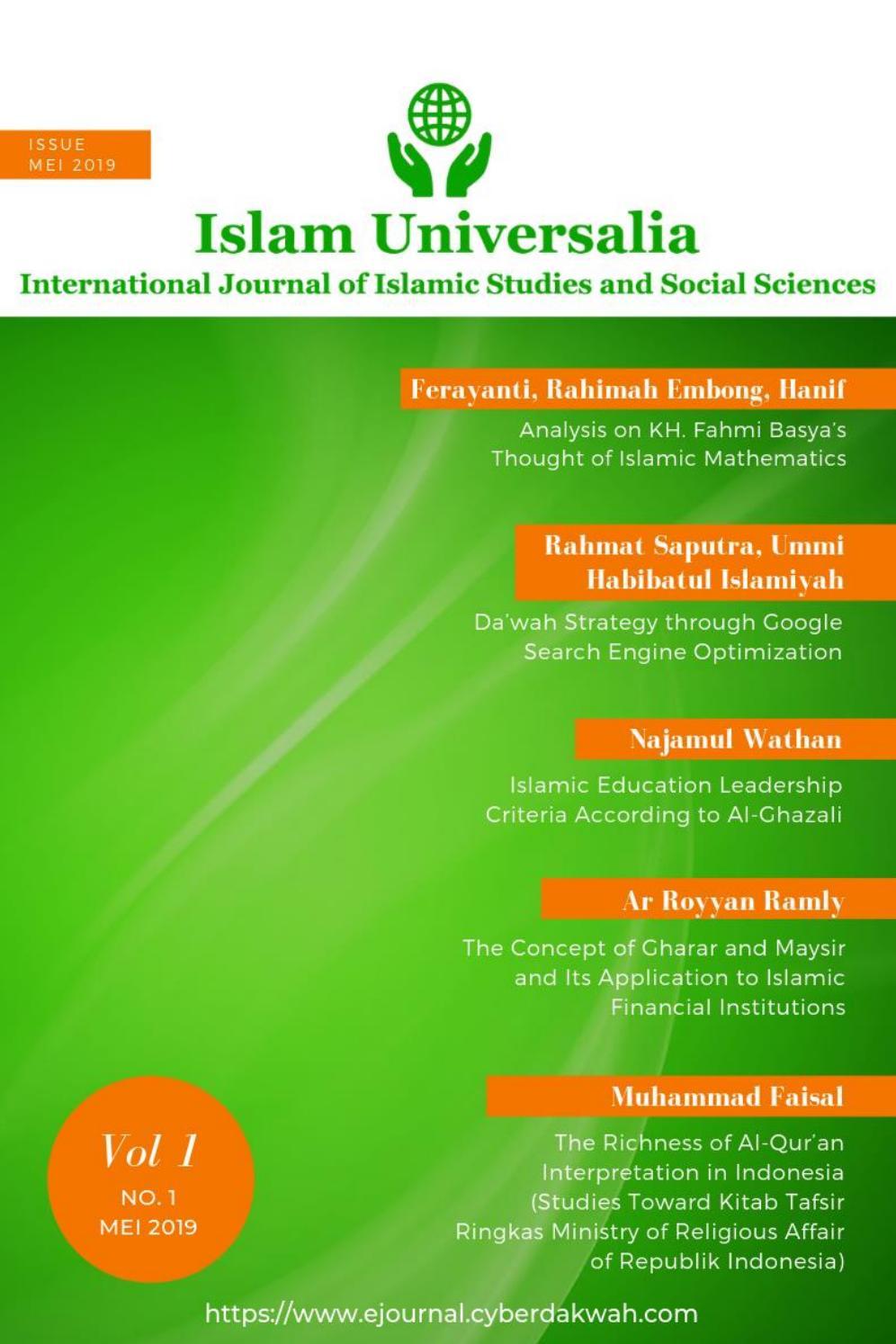 Konsep Gharar Dan Maysir Dan Aplikasinya Pada Lembaga Keuangan Islam By Islam Universalia Issuu