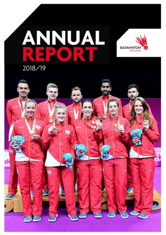 Badminton England Annual Report - 2018/2019 by YONEX All