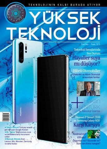 1367090f651a6 Yüksek Teknoloji Özel Sayı by Yüksek Teknoloji - issuu