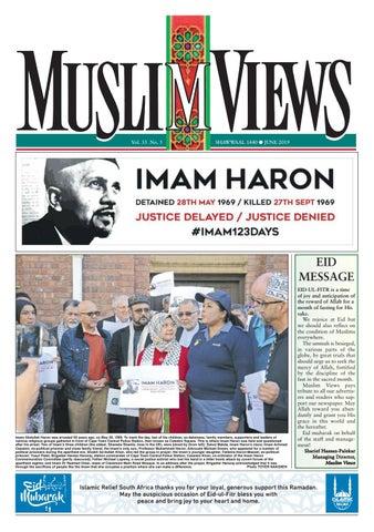 Muslim Views, June 2019 by Muslim Views - issuu