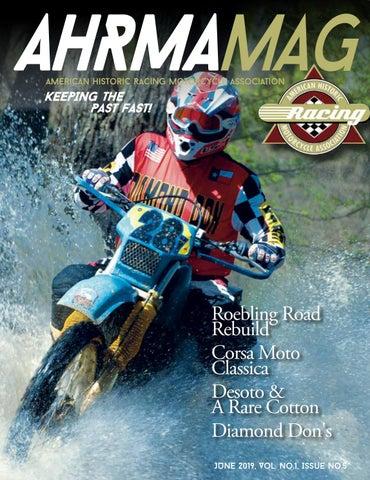 AHRMA Mag June 2019, Vol  No  1, Issue No  5 by ahrma - issuu