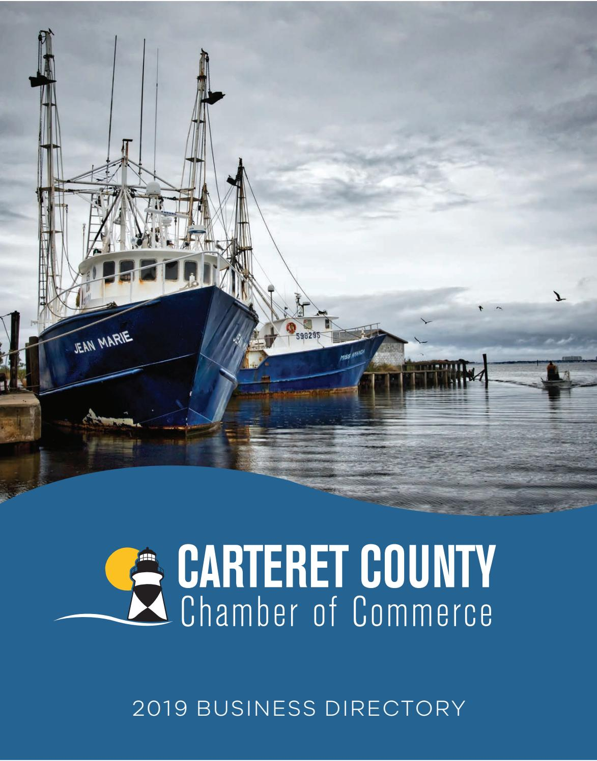 Carteret County Chamber of Commerce - 2019 by NCCOAST - issuu