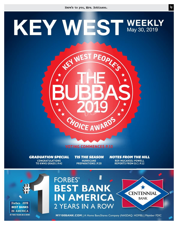 Design Bank 2 Zits Lugo.Key West Weekly 5 30 19 By Keys Weekly Newspapers Issuu