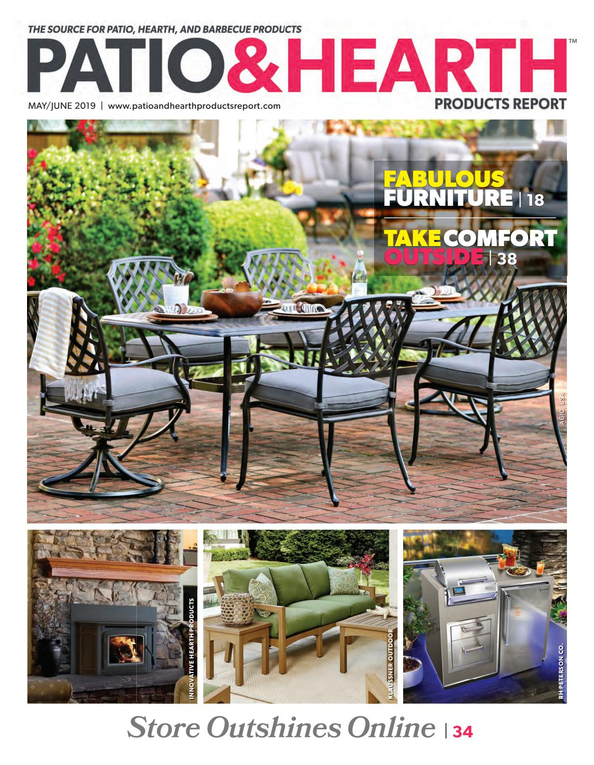 Patio Hearth Products Report May June