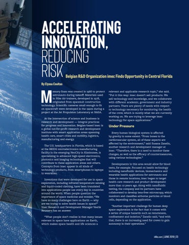 Page 25 of Accelerating Innovation, Reducing Risk