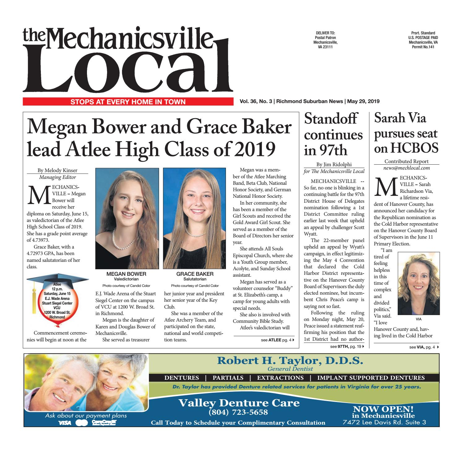 05/29/19 by The Mechanicsville Local - issuu
