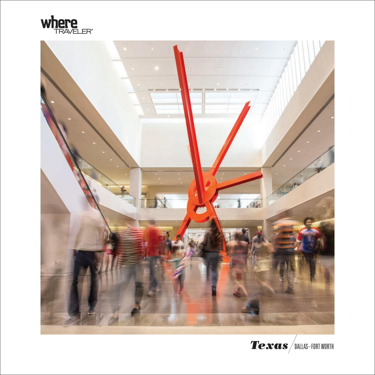 04d499c88 WhereTraveler Guestbook Dallas/Fort Worth 2019-2020 by Where Guestbook  Dallas - issuu