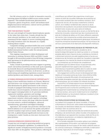 Page 13 of FEDERAL PERSPECTIVE / LE POINT DE VUE FÉDÉRAL
