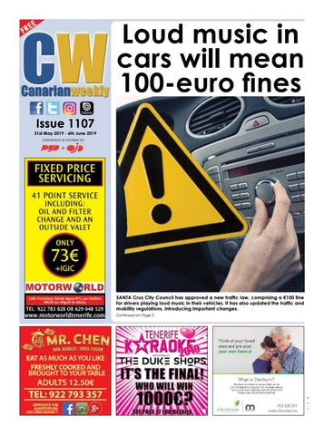 CW issue 1107 by Canarian Weekly - issuu