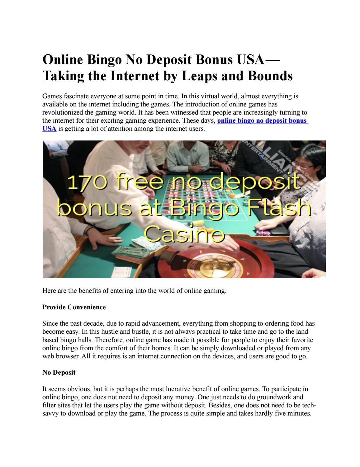 Online Casino Real Money No Deposit Bonus Usa By Onthegocasinos