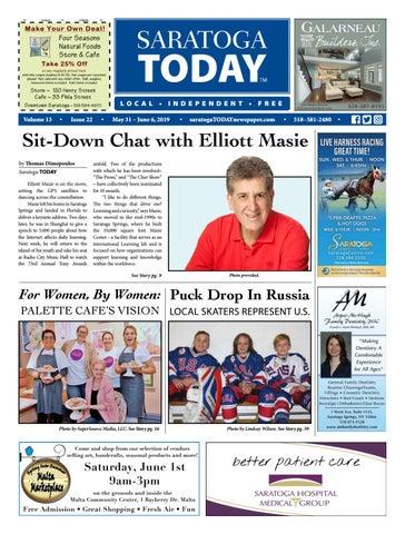 Saratoga TODAY 5 31 19 by Saratoga TODAY - issuu