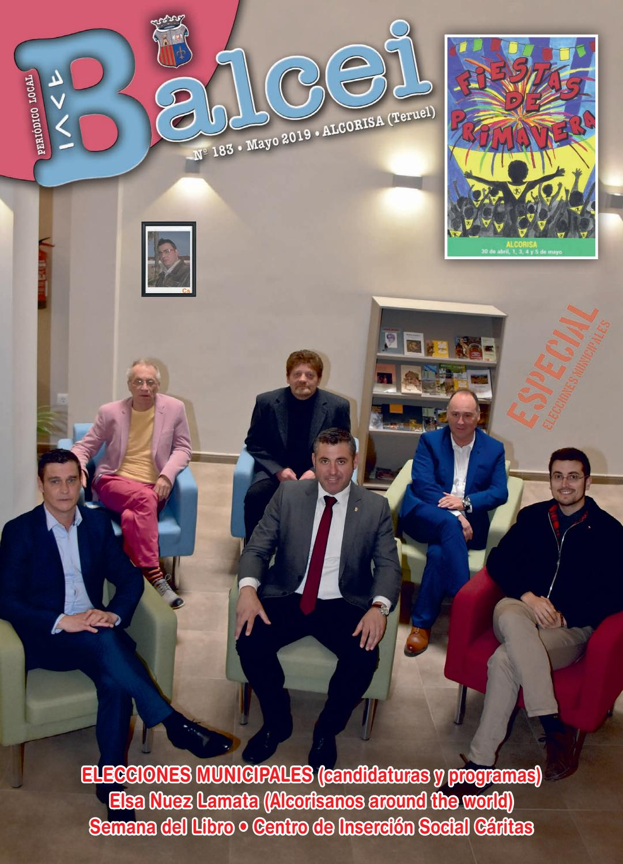 Balcei 183 Mayo 2019 By Balcei Perodico Local De Alcorisa Issuu